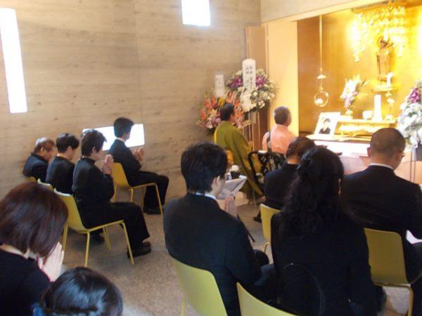 葬儀の模様