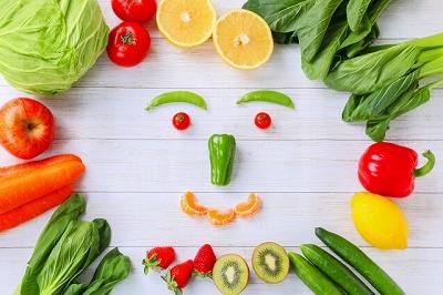 食物の色からバランスを取る