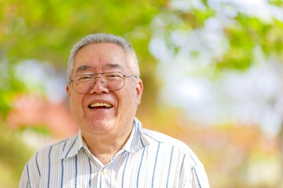 老後の健康「笑顔」